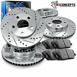Brake Rotors FRONT+REAR KIT ELINE