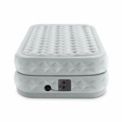 Intex Supreme Air Flow Raised Air Bed Mattress With Built In Pump  $84.89