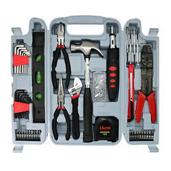 SAVWAY Household Tool Set 129PCS Mechanics Tool Kit Car Repair Tool With ToolBox $27.68