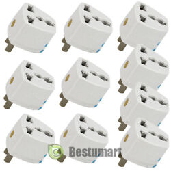 Lot Universal EU UK AU to US USA AC Travel Power Plug Adapter Outlet Converter A $4.99