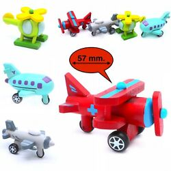 Toddler Toy Wooden Planes and Helicopters Shape and Color of Vehicle #1 $9.39