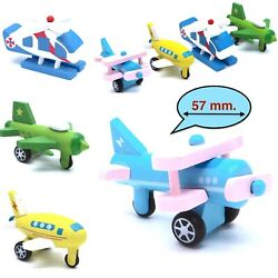 Toddler Toy Wooden Planes and Helicopters Learning Shape and Color of Vehicle #2 $9.39