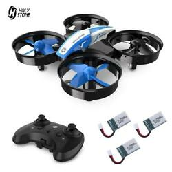 Holy Stone Mini Drone for Kids HS210 RC quadcopter helicopter 3 battery 3D Flip $25.99