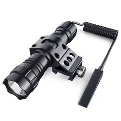 1000 Lum Tactical Flashlight LED Rechargeable for Outdoor Hunting Shooting New $18.04