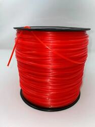 5lb .095 Star Orange Commercial String Trimmer Line Fits Echo Crossfire Shape