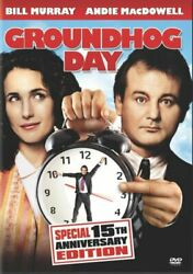 GROUNDHOG DAY New Sealed DVD 15th Anniversary Edition $7.83