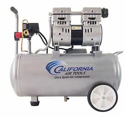 CALIFORNIA AIR TOOLS 8010 Ultra Quiet Oil-Free Lightweight Air Compressor-USED $179.00
