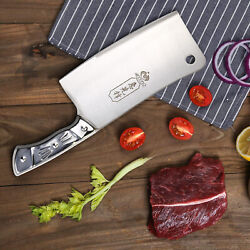 Kitchen 7 Cleaver Knife Chopper Butcher Stainless Steel for Home Restaurant US $11.99