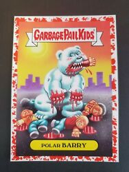 2017 Garbage Pail Kids Adam-Geddon Bloody Border Natural 2a Polar Barry  $7.95