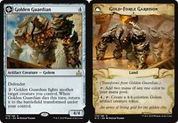 Golden Guardian  Gold-Forge Garrison x4 Magic the Gathering 4x Rivals of Ixala