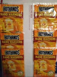 HotHands hand warmers 12 count 6 packs 2 hand warmers per pack exp. 2022 $4.95