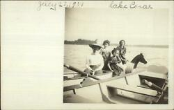 Michigan? Lake Cora Boat Swimsuits Girls Wooden Horse Float Toy c1910 RPPC $7.91