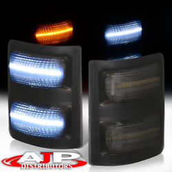Smoked LED Towing Mirror Signal Side Marker Lights For 2008 2016 F250 F350 F450 $26.99