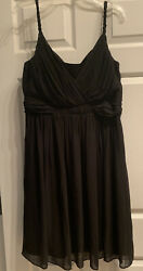 TOPAZ BLACK COCKTAIL DRESS SIZE 16 $20.99