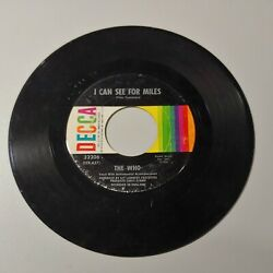45 RPM record The Who quot;I Can See For Milesquot; 1967 $3.95