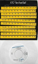 XTC Ten Feet Tall Helicopter The Somnambulist 45 with PicSleeve $9.99
