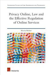Privacy Online Law and the Effective Regulation of Online Services Hardcove... $101.40