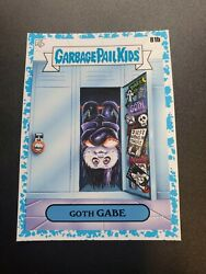 2020 Garbage Pail Kids Late To School Blue Spit Border SN99 81b Goth Gabe $10.95