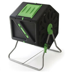 Miracle Gro DFSC105 28 Gal Tumbling Garden Waste Soil Composter w Hand Tool Kit $69.99