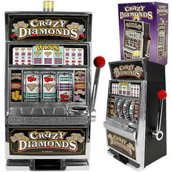 Slot Machine Bank Home Casino Adults Play Coins Toy Jackpot Indoor Game Spin New $58.63