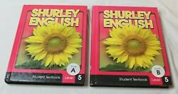 Shurley English Student Textbooks Set Level 5 Book A amp; B VGC Set $31.45
