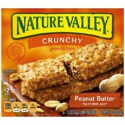 Nature Valley Crunchy Peanut Butter Granola Bars $11.95