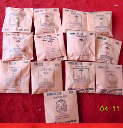 Gruen Named Veri Thin Replacement Vintage NOS Wrist Watch Plastic Crystals Group $12.00