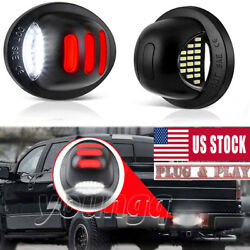 RED SMD Tube LED License Plate Tag Light Lamp for 1999 2016 Ford F150 F250 F350 $16.98