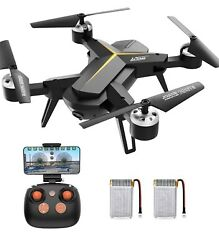 KOOME 2.4 GHz Foldable Drone 6 Axis Gyro Quadcopter Beginner Drone Kids Adults $65.00