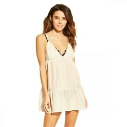 Women's Embroidered Cover Up Dress Xhilaration $15.37