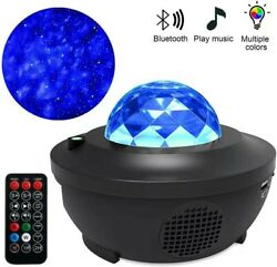 Blueteeth LED Galaxy Projector Starry Night Lamp Star Projection Night Light USB $49.99