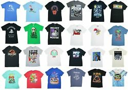 MovieTVMusic Pop Culture Graphic Short Sleeve T Shirt NWT Pick StyleSize $11.95
