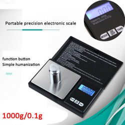 1000 0.1g Electronic Mini Micro Pocket Digital Scale For Weighing Spice Jewelry $12.49