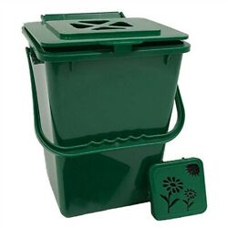 2.4 Gallon Kitchen Composter Compost Waste Collector Bin Green $90.01