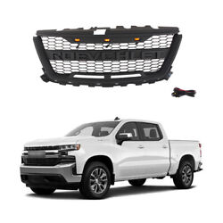 Grille Front Mesh For Chevrolet Colorado 2016 2019 Black Grill W black Letters $179.90
