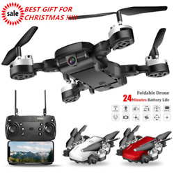 Foldable WIFI GPS FPV RC Quadcopter Drone 1080P HD Camera Selfie Drone VR Gift $28.99