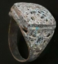 Ancient Ring Very Rare Find Antique Viking Ornament Artifact Unique Old Jewelry $70.35
