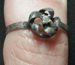 Wedding Artifact Antique Viking Ring Old Very Rare Ancient Forged Jewelry Unique $74.80
