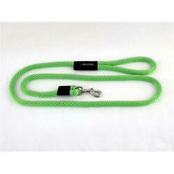 Soft Lines P10610LIMEGREEN Dog Snap Leash 0.37 In. Diameter By 10 Ft. Lime ... $35.57