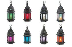 BULK DISCOUNTS Small Black Iron Moroccan Style Candle Lanterns Save Up To 40% $25.99