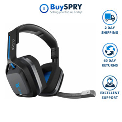 Astro A20 Gaming Wireless Black  Blue Headset for Sony Playstation 4  PS4  $59.99