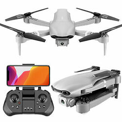 F3 Optical Flow 4K Dual Lens Camera GPS Positioning HD Aerial Drone Foldable RC $315.95