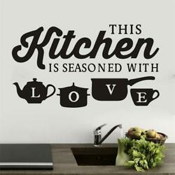 Removable Kitchen Wall Sticker Window Vinyl Decal for Bedroom Home Decoration $6.99