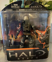Halo Reach Series 1 Emile 5 Action Figure McFarlane Toys =FREE SHiPPING= $89.00