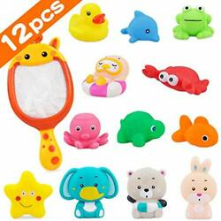 PETPLUS Bathtub Toys 12 Pcs Baby Bath Toys for Baby Boys Toddlers 1 3 Years $15.98