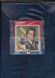 UNOPENED PACKAGE  BULL DURHAM MOVIE PROMOTIONAL CARDS   KEVIN COSTNER   Scarce $3.50