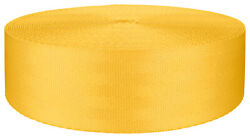 2 Inch Seat-belt Yellow Polyester Webbing Closeout 5 Yards $7.90