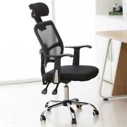 Mesh Chair Ergonomic Executive Swivel Office Chair Computer Desk Black $69.99