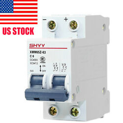 DC MCB Circuit Breaker for Solar Photovoltaic 2P-61016202532405063A NEW  $13.98