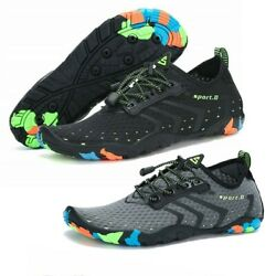 Water Shoes Men Summer Pump Breathable Sneaker Swimming Boat Athletic Sport Shoe $19.99